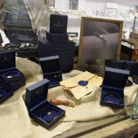 Essential Silver | Obsidiaan Kralen Armband van Blaauw Bloed