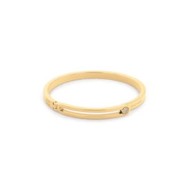 Tommy Hilfiger Goudkleurige Dames Armband van Edelstaal