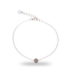 Grijze Pavé Swarovski Armband van Spark Jewelry