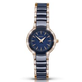 Roségoudkleurig met Blauw Seksy Sekonda Dames Horloge