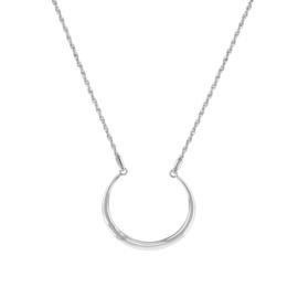 Tommy Hilfiger Zendaya Zilverkleurig Collier met Cirkelvormige Hanger TJ2780277