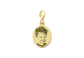 Gouden Ovale Fotogravure Bedel van Names4ever