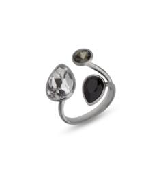 Swarovski Ring van Spark Jewelry met Swarovski Kristallen