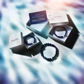 Make-A-Wish Armband | 8 mm Kralen - Armband Maat 16/17cm-S
