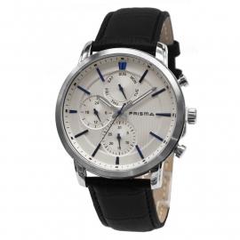 Prisma Horloge 1580 Heren Edelstaal Multi-functioneel