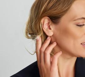 Goudkleurig Ear cuff