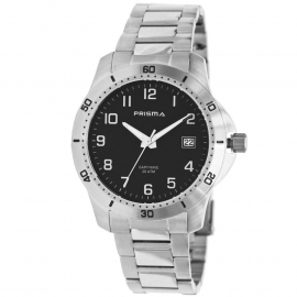 Prisma Heren Horloge Edelstaal 20 ATM P.1737