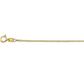 9 Krt. Collier Gourmet Schakels | Dikte: 1,2 mm Lengte: 42cm