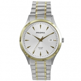 Prisma Heren P.1653 Horloge Saffierglas 10 ATM