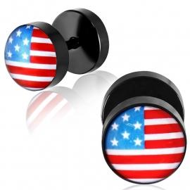 USA Imitatie Piercing Oorbel