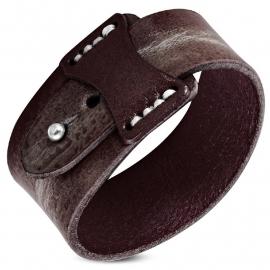 Bruine Leren Armband SKU90741