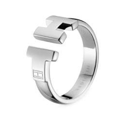 Elegante Edelstalen Tommy Hilfiger Dames Ring TJ2700864C