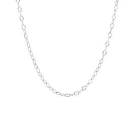 Schakelcollier van Gerhodineerd Zilver voor Dames
