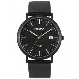 Prisma Heren P.1669 Horloge Titanium Saffierglas 5 ATM
