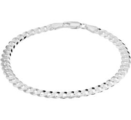 Zilveren Armband met Robuuste Schakels voor Heren