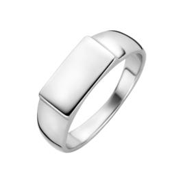 Zilveren Graveer Ring | Ring met naam of Initialen