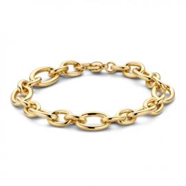 Excellent Jewelry Geelgouden Armband met Robuuste Schakels