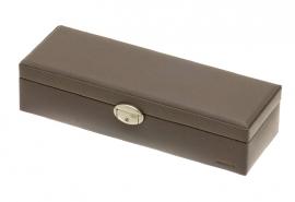 Horlogebox voor 6 horloges / Donkergrijs