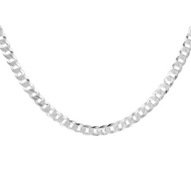 Zilveren Collier Gourmet 4,3 mm | Lengte 60 cm