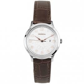 Prisma Dames P.1637 Horloge Edelstaal