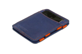 Blauw met Oranje Hunterson Magic Wallet uit de Bright Collection