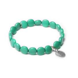 Speelse Groene Armband van BIBA