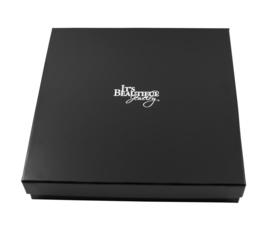 Zwart Kartonnen Doosje voor Spang Collier / Set Sieraden