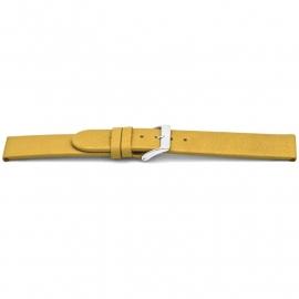 Horlogeband H842 Classic Geel Ongestikt 20x20 mm NFC