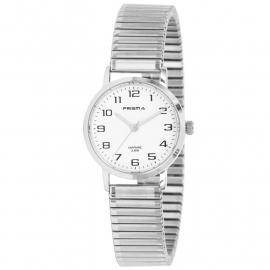 Prisma Horloge P.1756 Edelstaal Rekband met Saffierglas
