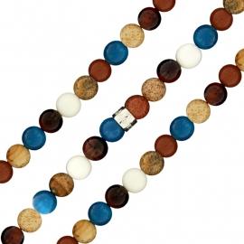 Gekleurde Natuurstenen Bracelet MY iMenso 27-0531-185