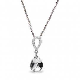Pear Drop Swarovski Ketting van Spark Jewelry
