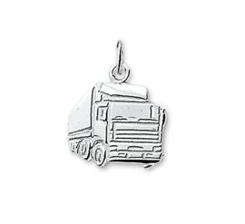 Vrachtwagen Bedel van Gepolijst Zilver 10.03255