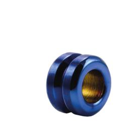DISX Double Round Bedel in Blauwe Kleur