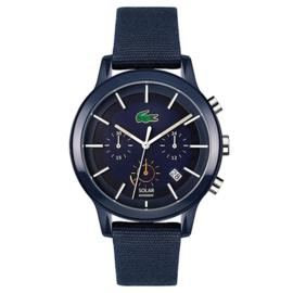 Lacoste 12.12 SOLAR Blauwe Horloge Heren LC2011114