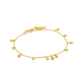 Goudkleurige Bohemia Bracelet van Ania Haie