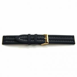 Horlogeband F616 Nylon Donker Blauw 18mm