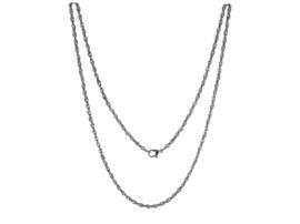 Zilverkleurig Edelstalen LOCKits Collier 60cm