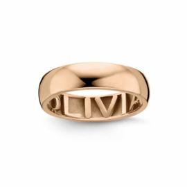 Nomelli Gioia-Promessa 5mm Ring van Roségoud
