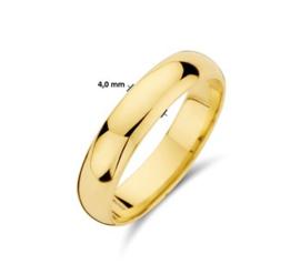 Gouden Relatiering 14k Goud
