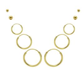 Karma Jewelry – Tiendelige Best Basics Earparty Set - Gold