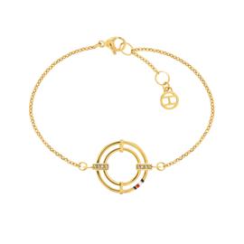 Tommy Hilfiger Armband Cirkel Goudkleurig TJ2780148