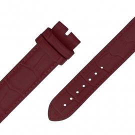 MY iMenso Quartz Marsala leren Horlogeband