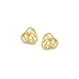 Excellent Jewelry Geelgouden Cirkels Oorstekers voor Dames