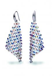 Small Chic Swarovski Oorhangers van Spark Jewelry