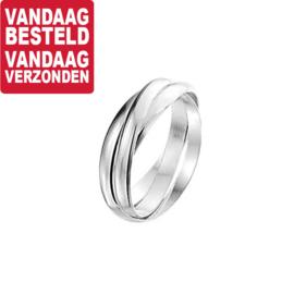 Zilveren Ring 3-in-1 / Maat 16,5