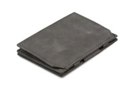 Metaalgrijze Magic Coin Wallet Portemonnee van Essenziale Garzini