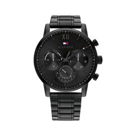 Tommy Hilfiger Sullivan Zwart Heren Horloge