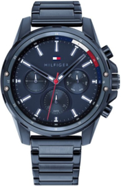 Tommy Hilfiger Blauw Mason Horloge voor Heren