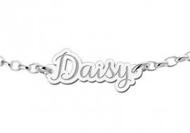 Zilveren Armband met Naam Names4ever