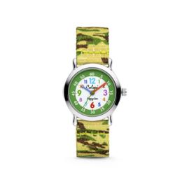 Groen Camouflage Kids Horloge van Colori Junior
